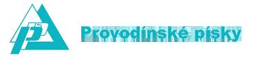Provodínske písky a.s. Logo